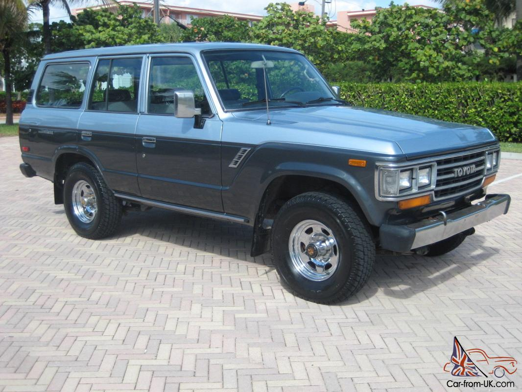 Land Cruiser Landcruiser 4x4 Collectible 1988 Toyota Off Road FJ62 88Toyota Land Cruiser 4x4 Off Road