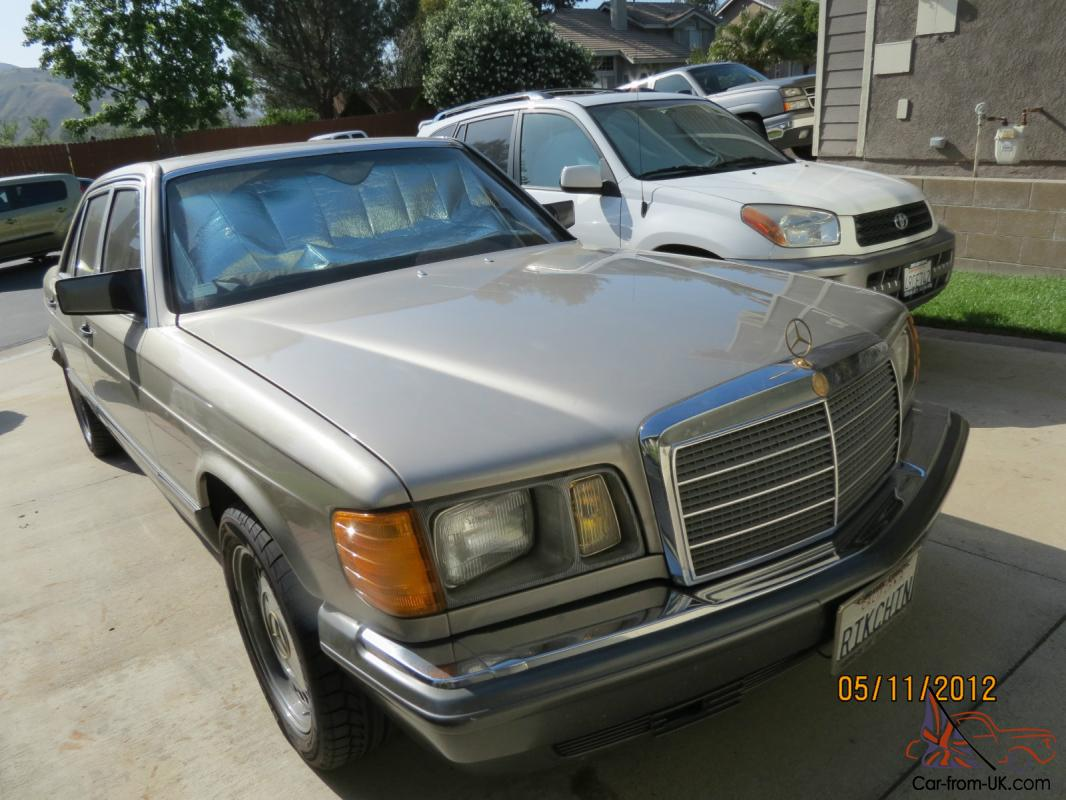 Mercedes benz 500sel 1985 4 door sedan v8 for 1985 mercedes benz 500sel