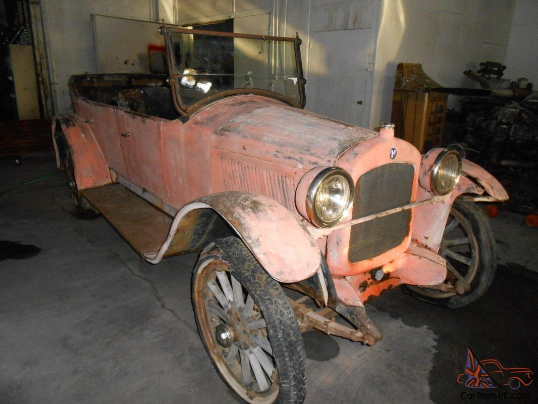 1923 HUPMOBILE PHEATON BARN FIND COMPLETE RUST FREE PROJECT LOW RESERVE