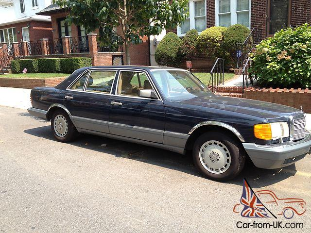 Mercedes benz 560 sel flagship clean low miles calif one for Mercedes benz flagship car