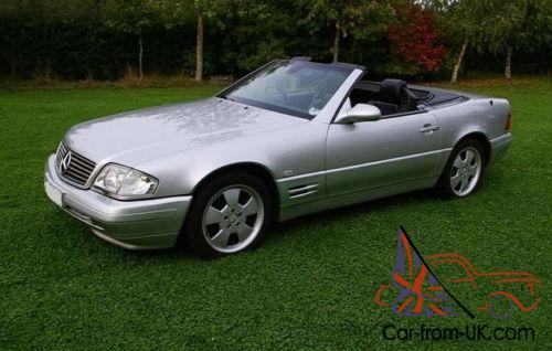 1999 mercedes benz sl500 auto. Black Bedroom Furniture Sets. Home Design Ideas