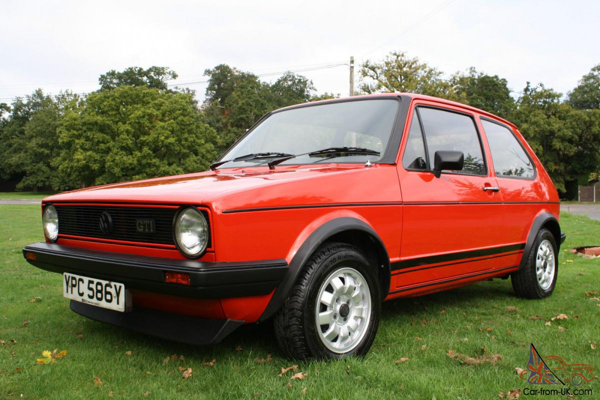volkswagen golf gti mark 1 mk1 1983 90 000 miles outstanding condition. Black Bedroom Furniture Sets. Home Design Ideas