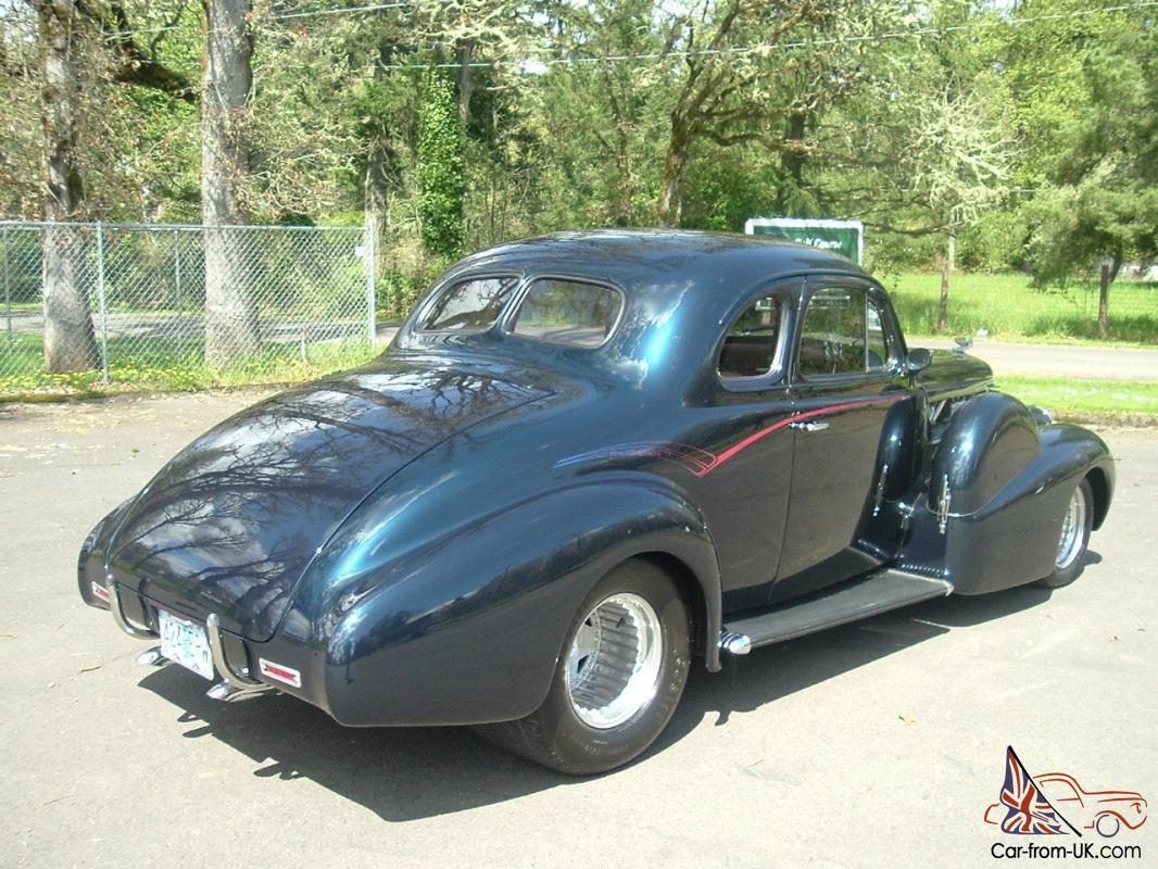 1938 cadillac coupe model 6127 wdual side mounts street rod