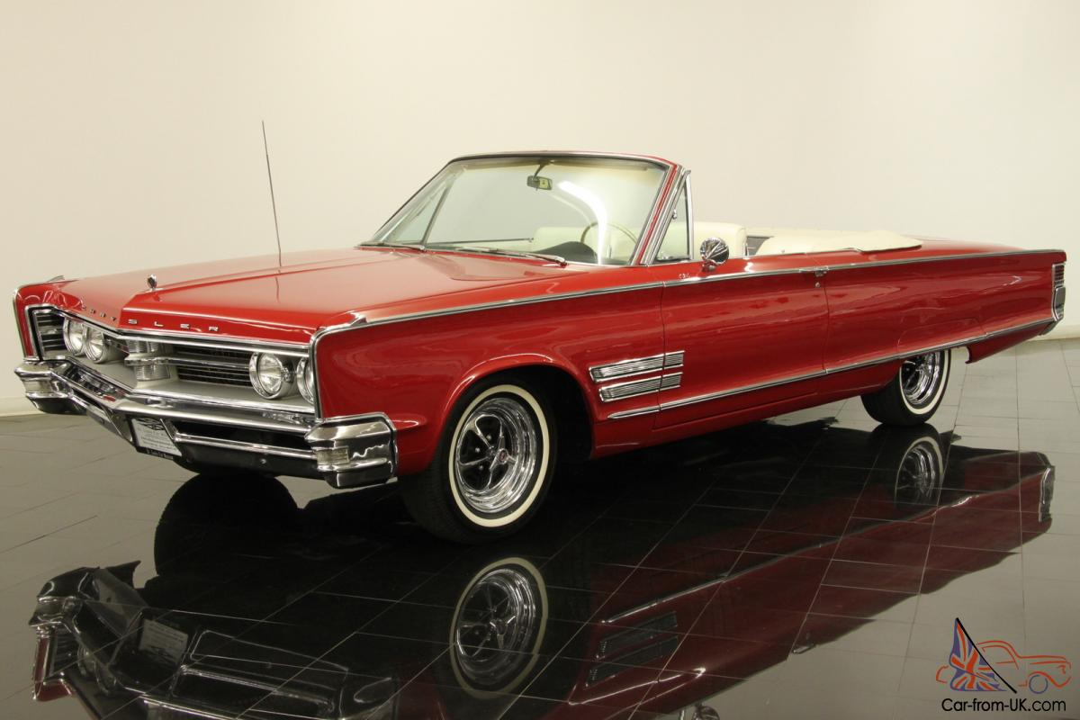 1966 chrysler 300 convertible 1 of only 2500 loaded ac ps pb pw pt 383 v8 auto. Black Bedroom Furniture Sets. Home Design Ideas