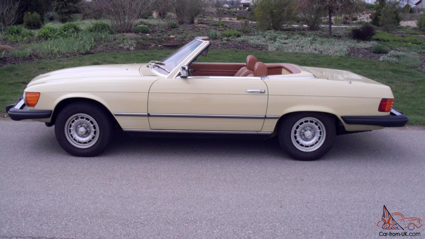 1978 Mercedes - Benz 450SL ONLY 3404 ORIGINAL MILES The best 450SL available