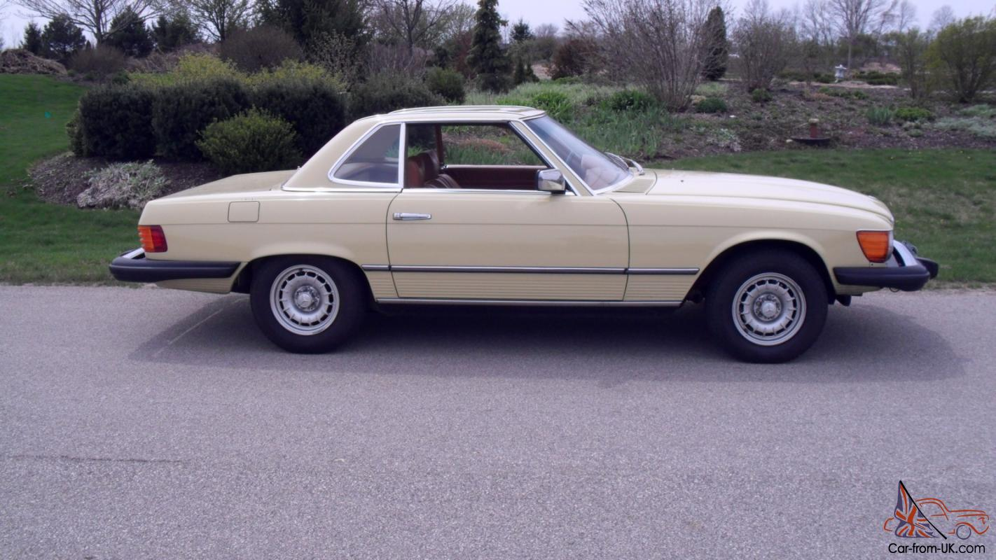 1978 Mercedes Benz 450sl Only 3404 Original Miles The