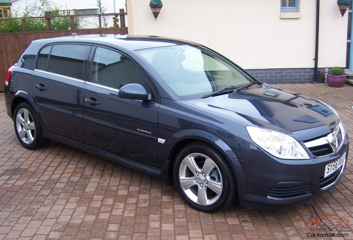 2006 vauxhall signum elegance cdti diesel metro grey. Black Bedroom Furniture Sets. Home Design Ideas