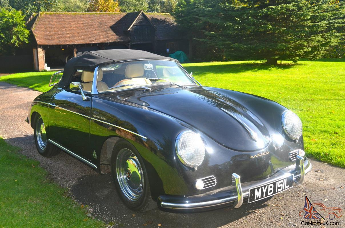 Porsche 356 Speedster Convertible Chesil Factory Built