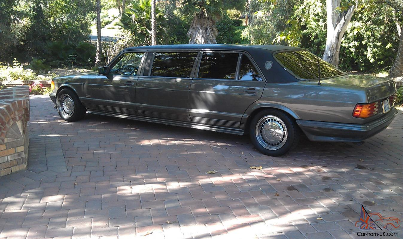 Limousine mercedes benz 1984 500sel classic for Mercedes benz limo