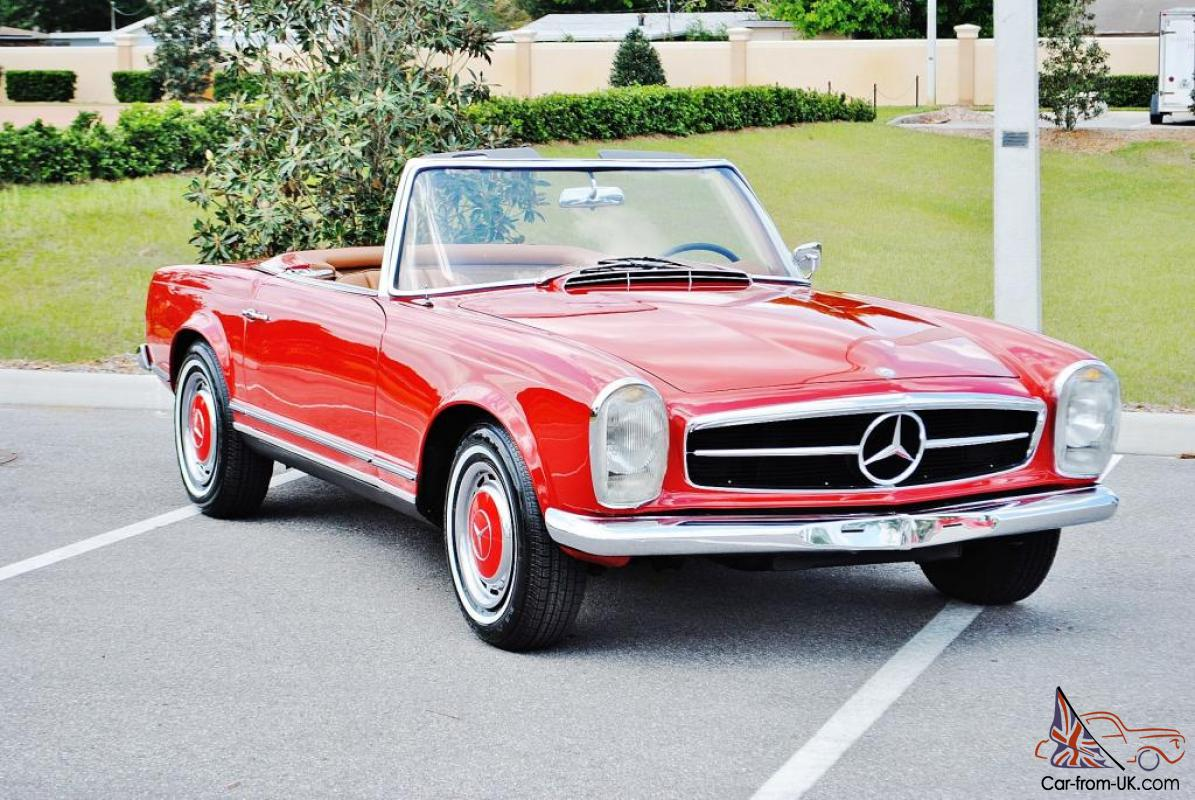 Fully Restored To Show 1963 Mercedes 230sl Convertible