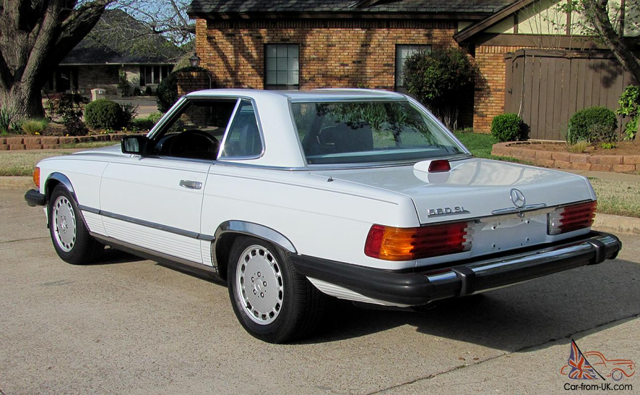 1986 mercedes benz 560sl convertible 83k miles rh car from uk com