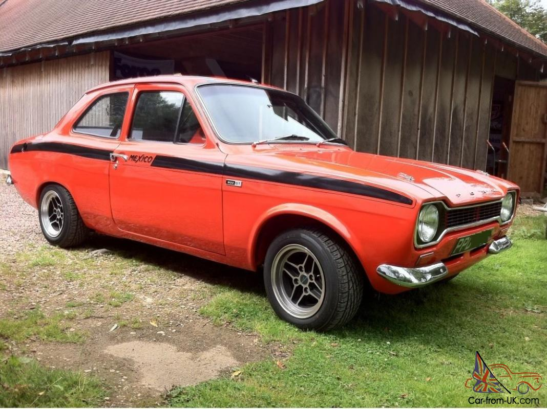 1973 FORD ESCORT MEXICO MK 1 ESCORT MARK 1 MEXICO RED