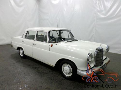 Stunning Classic 1964 Mercedes Benz 190 W110 Heckflosse Full Leather