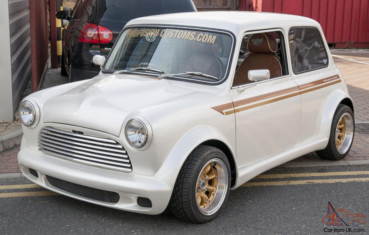 Classic MINI Custom Built Show Car Modified by Profusion Customs Photo