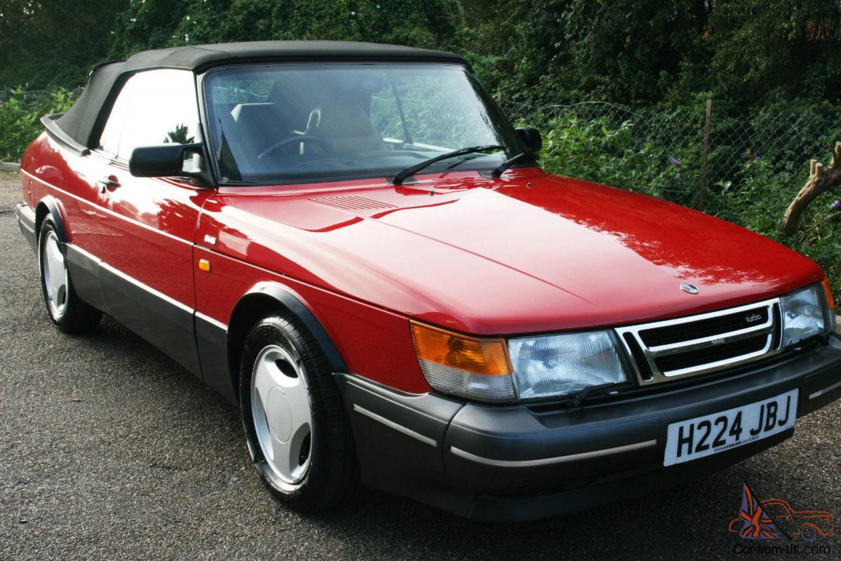 saab 900 turbo 16v convertible auto. Black Bedroom Furniture Sets. Home Design Ideas