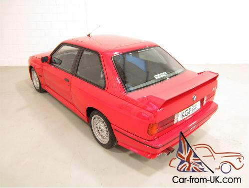 A Tremendous Bmw E30 M3 With Just 64 443 Miles And Uk Bmw