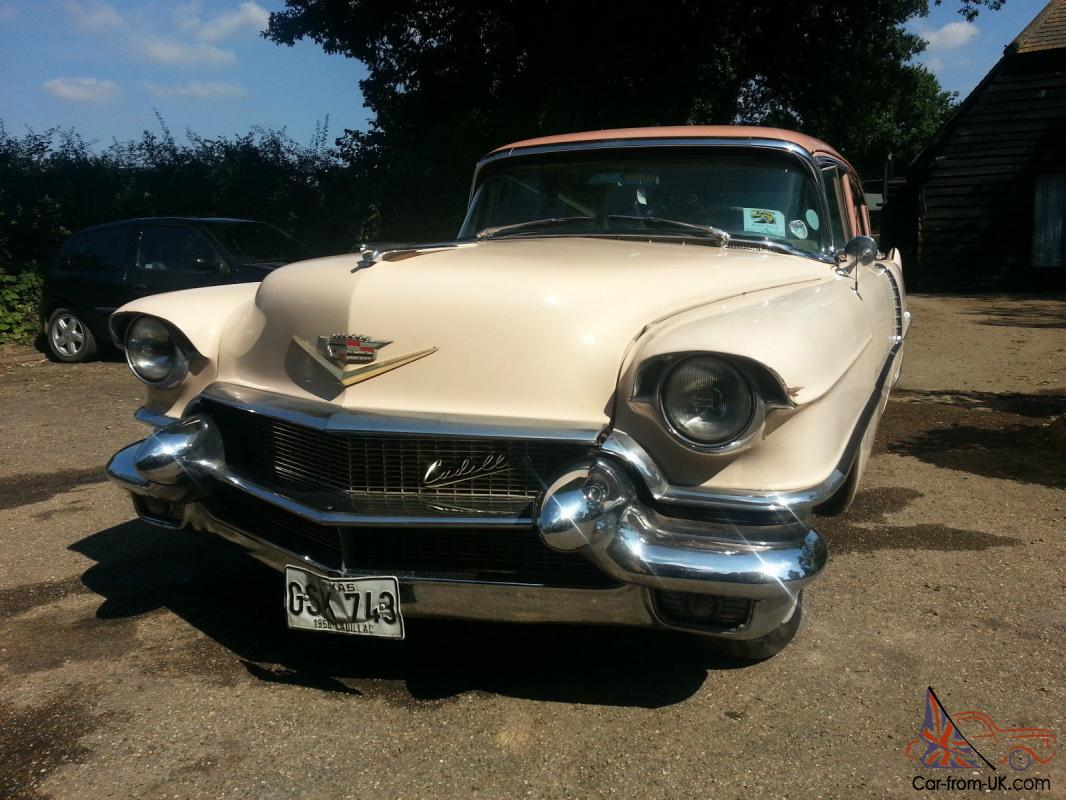 1956 cadillac deville for sale on classiccars com 9 - 1956 Cadillac Fleetwood Deville Classic Chevy Caddy V8 Project 56 American