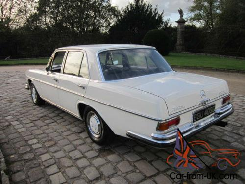 1969 mercedes benz s280 auto for Mercedes benz s280 for sale