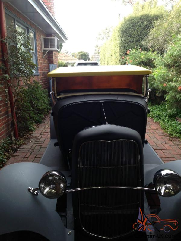 Ford 1932 Hotrod Roadster Unfinished Project 1933 1934 1935 in ...