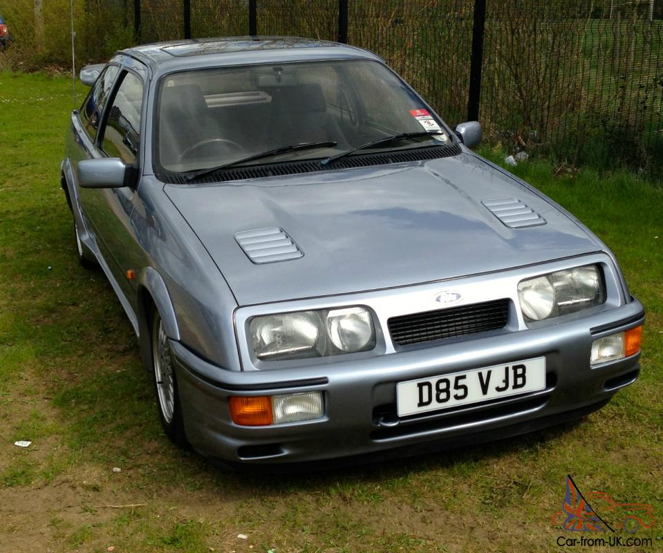 1986 ford sierra rs cosworth blue. Black Bedroom Furniture Sets. Home Design Ideas