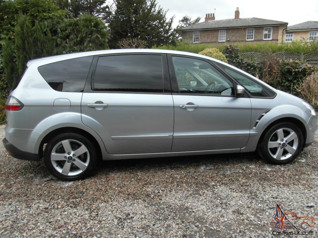 2007 ford s max titanium tdci 6g silver. Black Bedroom Furniture Sets. Home Design Ideas
