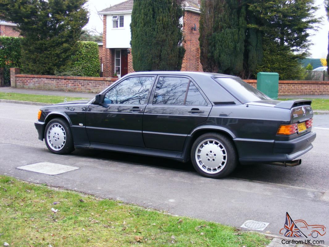 1989 mercedes 190e 2 5 16v black manual cosworth. Black Bedroom Furniture Sets. Home Design Ideas