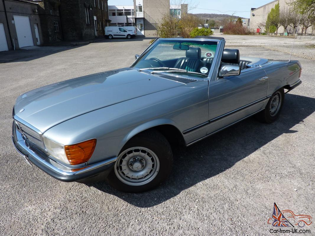 1980 mercedes 380 sl auto light blue metallic. Black Bedroom Furniture Sets. Home Design Ideas
