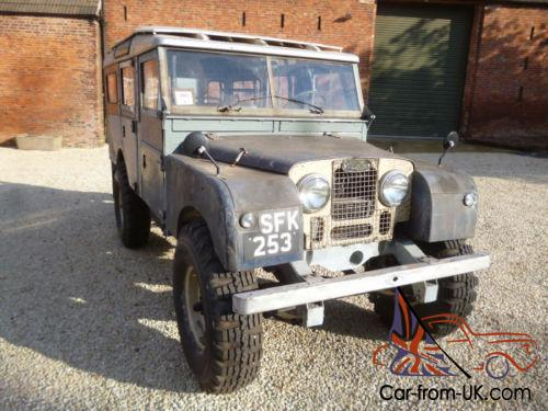 Used Land Rovers For Sale >> 1957 Series 1 Land Rover 107
