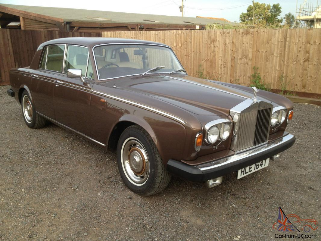 1978 rolls royce silver shadow 11 an exceptional example 69k miles with history. Black Bedroom Furniture Sets. Home Design Ideas