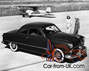 1949 Ford Tudor Coupe Unfinished Hot Rod Project 1971