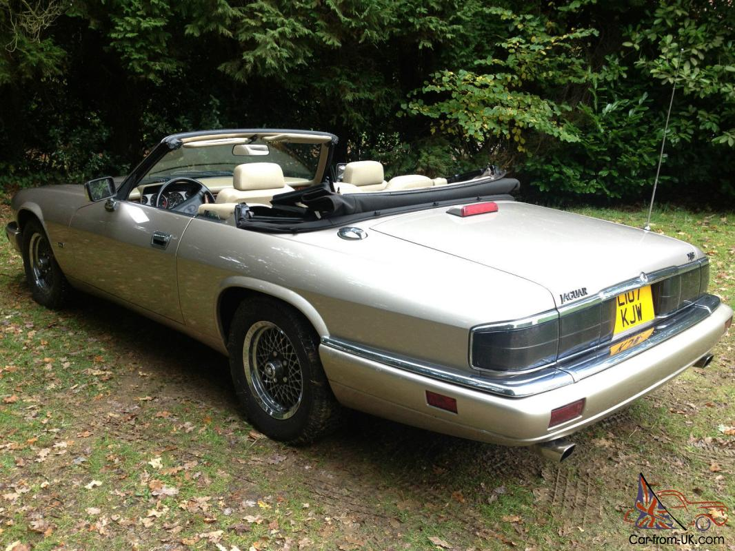 lhd jaguar xjs xj s convertible 1994 one owner from new. Black Bedroom Furniture Sets. Home Design Ideas