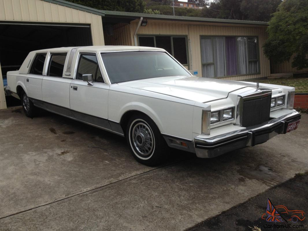 Lincoln Town Car Stretch Limo For Sale