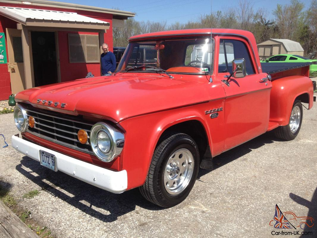 Truck Beds For Sale >> Clean 1966 Dodge d 100 custom truck