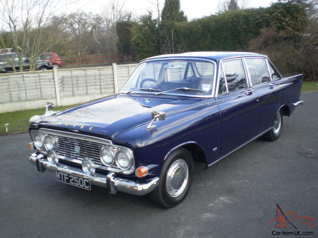 Rare manual 1965 ford zodiac mk3 executive photo