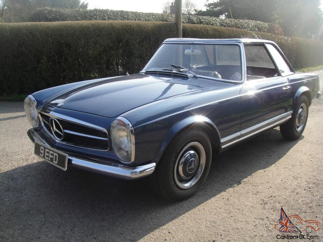 1967 mercedes benz 250 sl california coupe