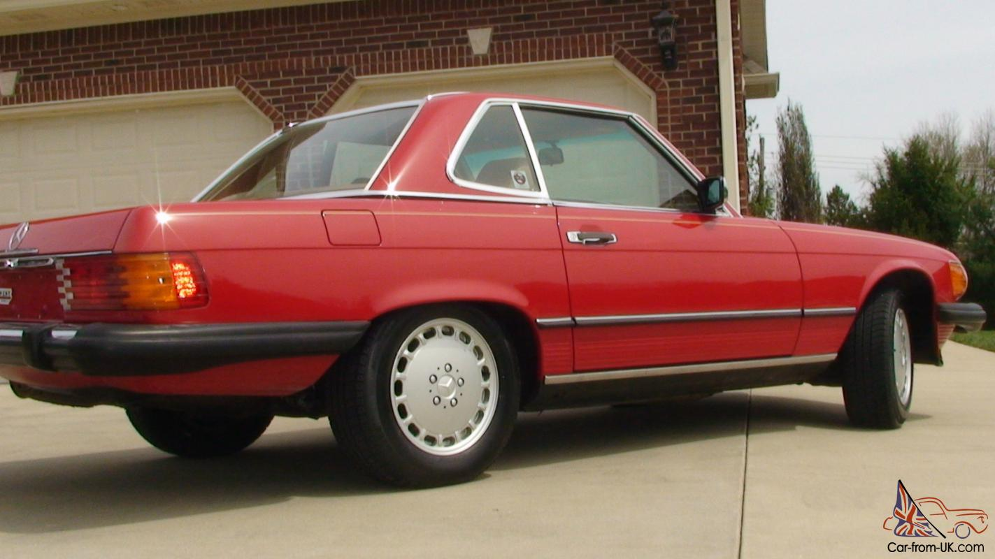 1987 mercedes benz sl560 beautiful car this one is the for 1987 mercedes benz