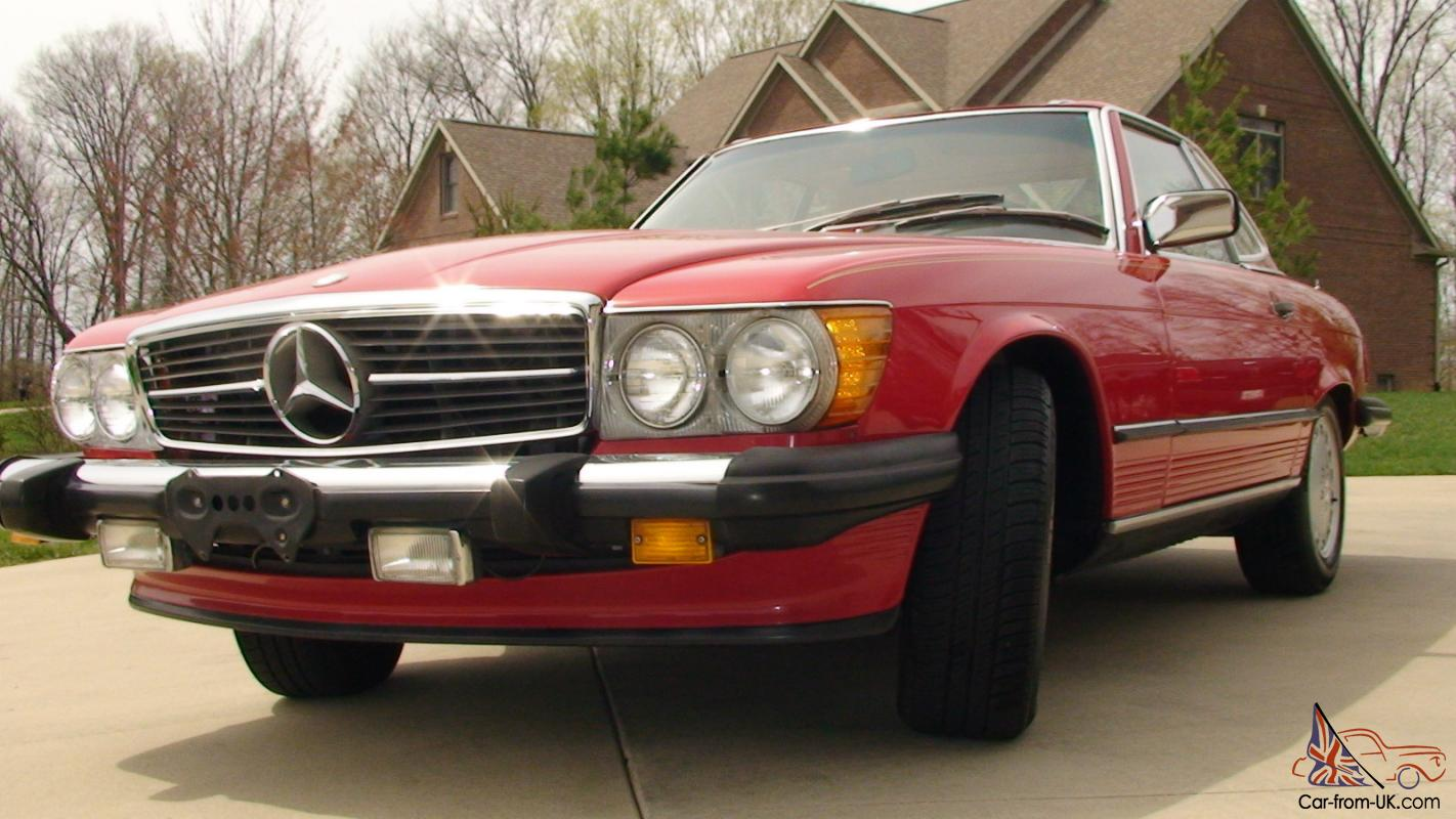 1987 Mercedes Benz Sl560 Beautiful Car This One Is The