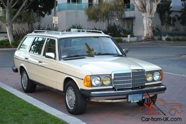 1985 mercedes 300td turbo diesel wagon only 157 k miles great condition ca car. Black Bedroom Furniture Sets. Home Design Ideas