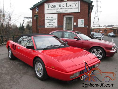 1988 ferrari mondial 3 2 v8 convertible immaculate low mileage. Black Bedroom Furniture Sets. Home Design Ideas