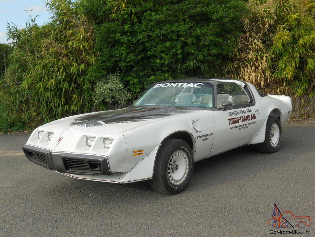 1980 Turbo 4 9 Trans Am Indy Pace Car