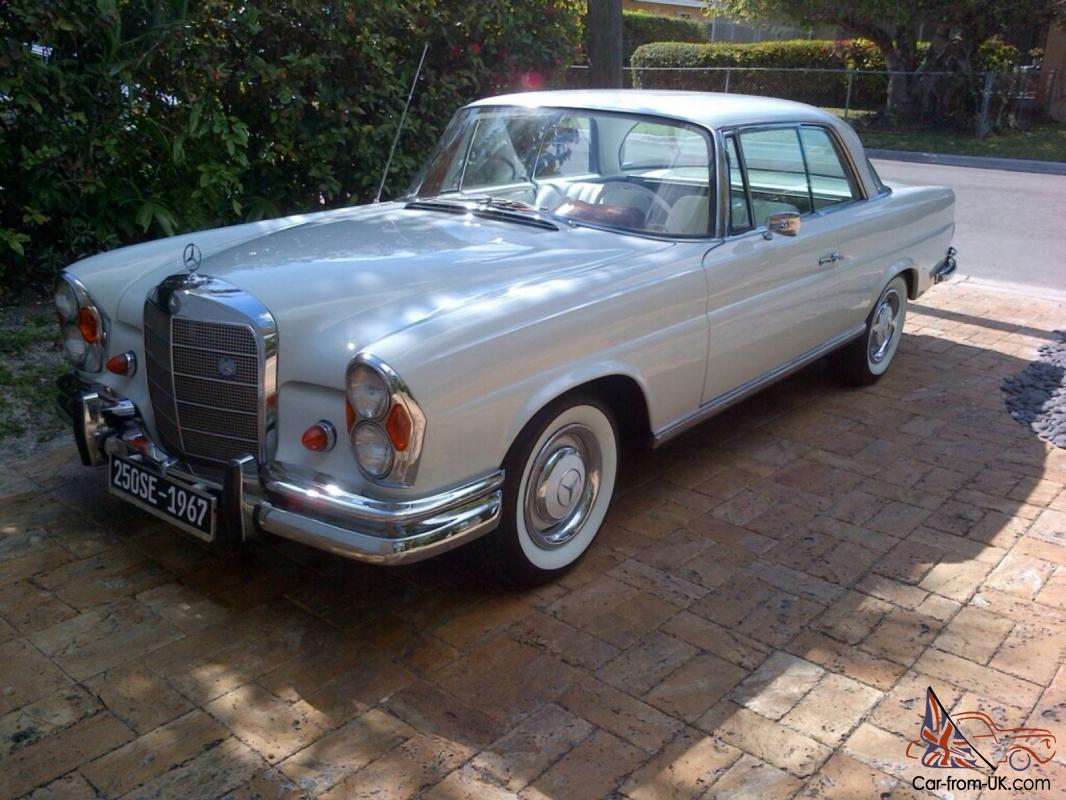 Mercedes benz 250 se excellent condition for Mercedes benz 250 se