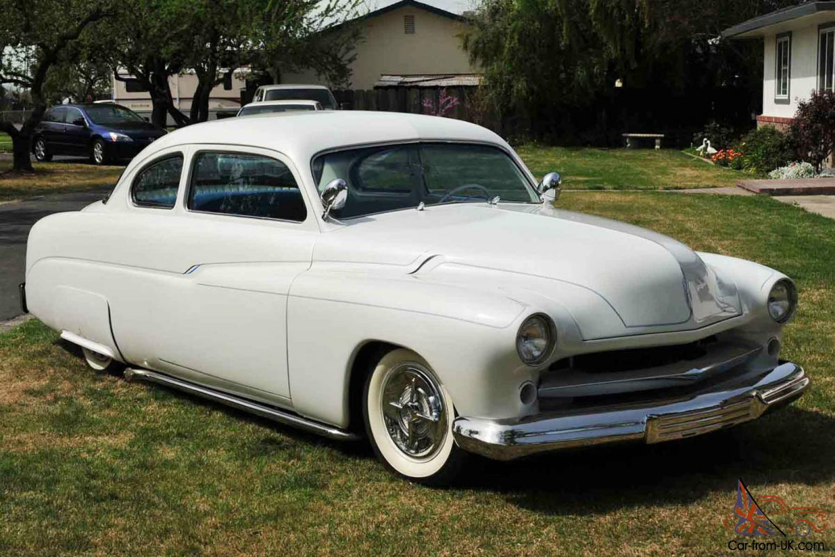 1951 mercury 2 dr coupe 460 c6 pearlwhite ford 9 rear ps pdiscb tilt ac. Black Bedroom Furniture Sets. Home Design Ideas