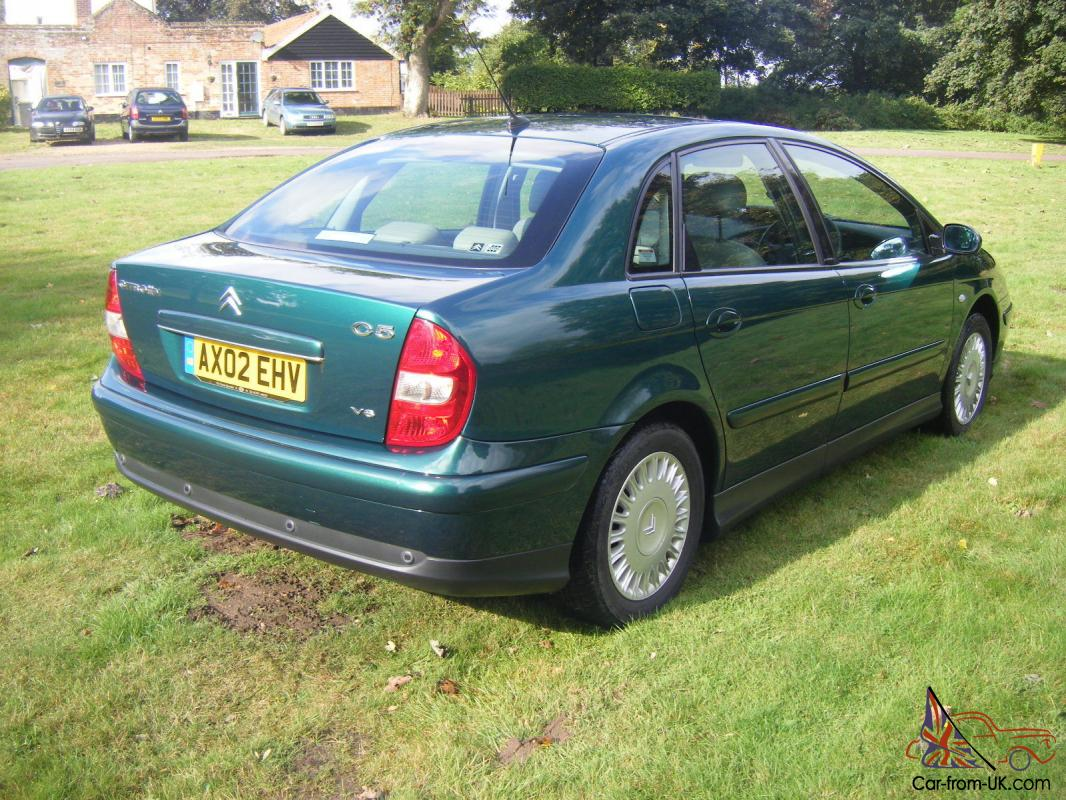 02 02 citroen c5 3 0 v6 exclusive se auto only 20412 miles 1 owner from new. Black Bedroom Furniture Sets. Home Design Ideas
