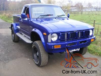 stunning 1981 toyota hilux pickup hotrod built from scratch 247mls from build. Black Bedroom Furniture Sets. Home Design Ideas