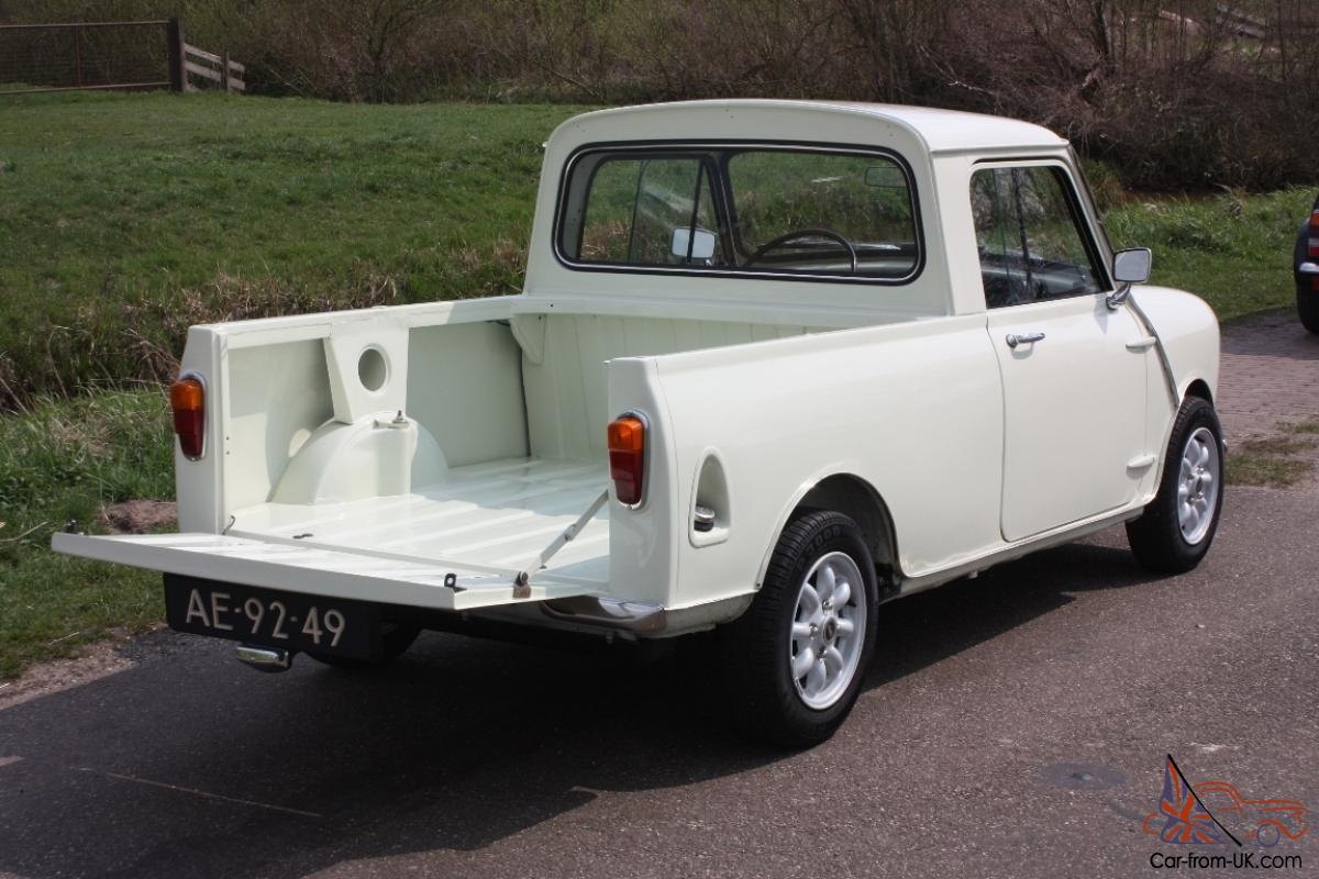 1965 mini pick up. Black Bedroom Furniture Sets. Home Design Ideas