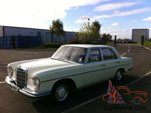 1968 mercedes benz 250s saloon automatic w108 for Mercedes benz w108 for sale