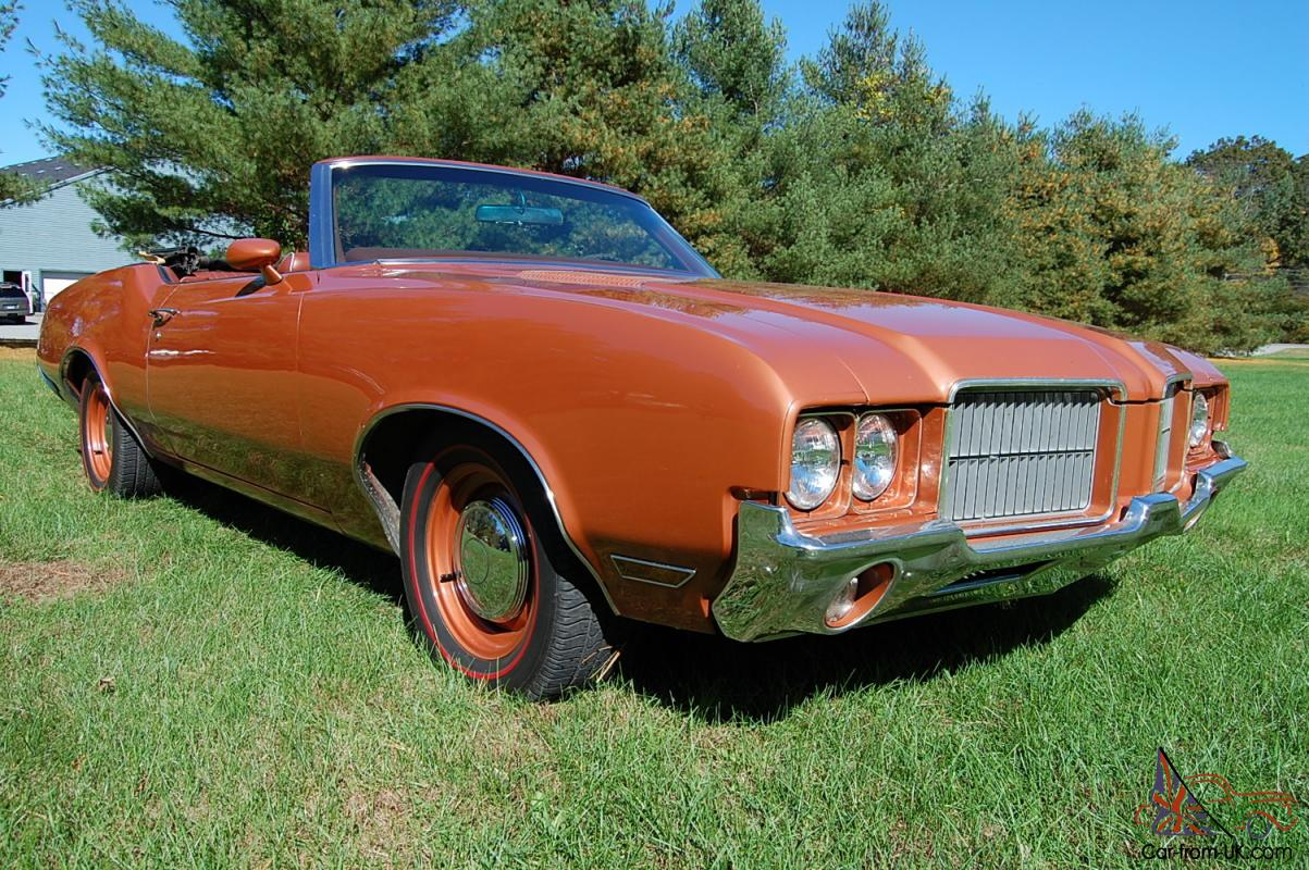 1971 Oldsmobile Cutlass Supreme Convertible Nicely ...