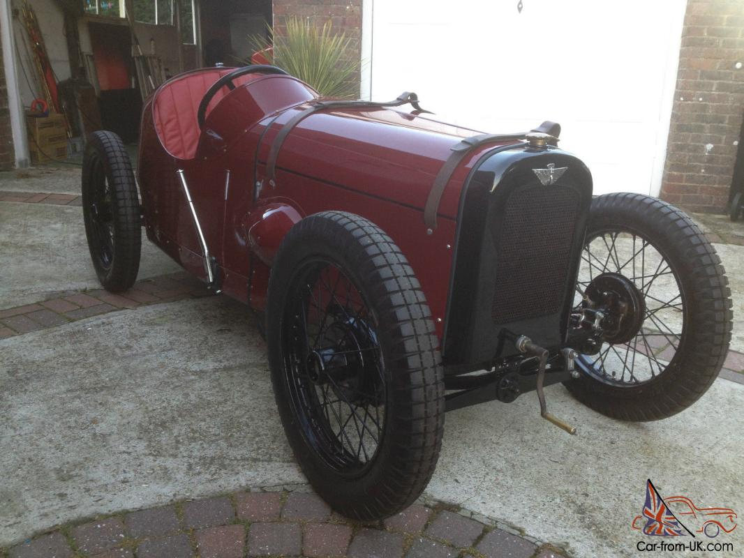 Austin Seven Speedy Special (1935) with external hand brake ...