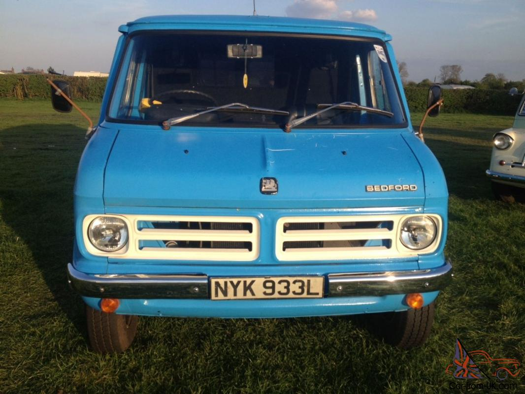 BEDFORD CF mk1 Panel Van 1972 Sliding door model RARE