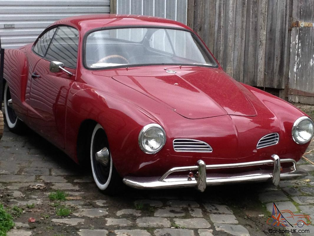 volkswagen karmann ghia 1960 2d coupe 4 sp manual 1 2l carb in melbourne vic. Black Bedroom Furniture Sets. Home Design Ideas